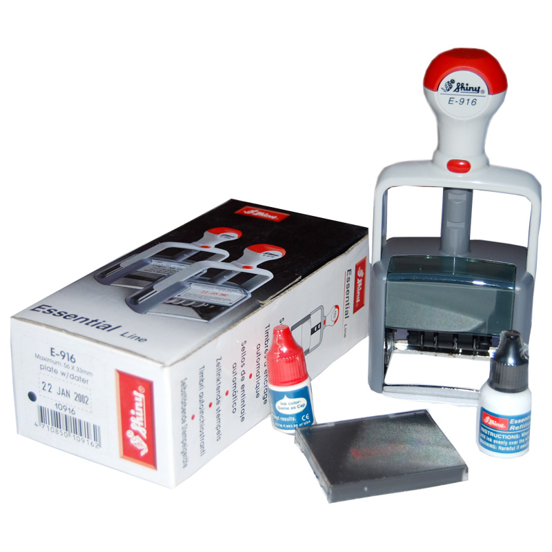 Shiny-E-916-Self-Inking-Dater-Stamp